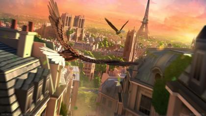 eagle flight vr játék
